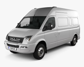 3D model of LDV V80 (Maxus) L2H3 2013