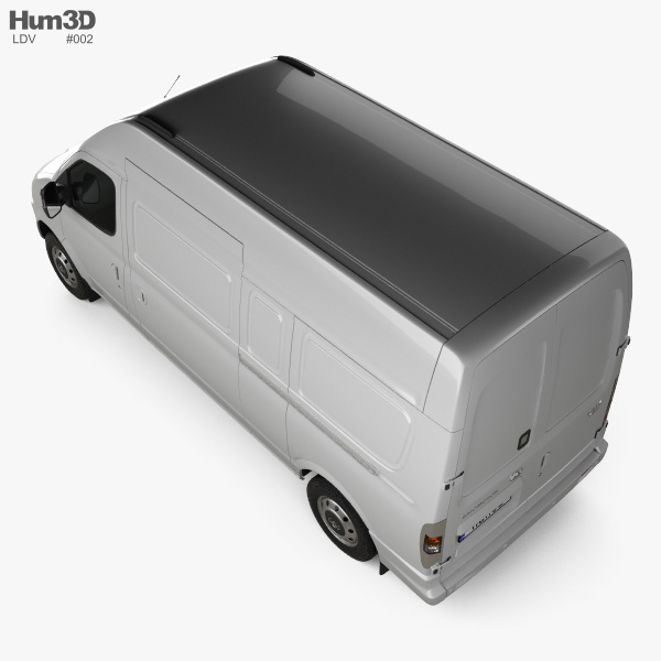 LDV V80 (Maxus) L2H3 2013 3D model