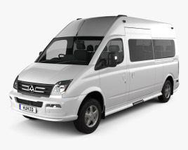 3D model of LDV V80 L2H3 Minibus 2013