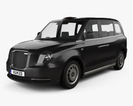 3D model of LEVC TX Taxi 2017