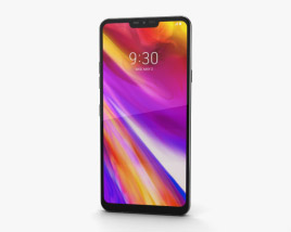 3D model of LG G7 ThinQ Platinum Gray