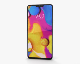 LG V40 ThinQ Platinum Gray 3D model