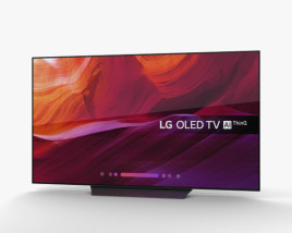 3D model of LG OLED TV B8 65″