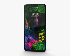 3D model of LG G8 ThinQ Aurora Black