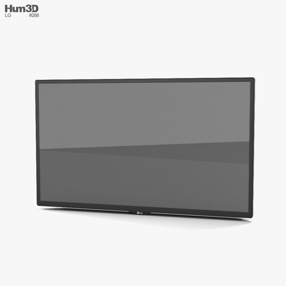 LG 32SM5D Digital Signage Screen 3D model