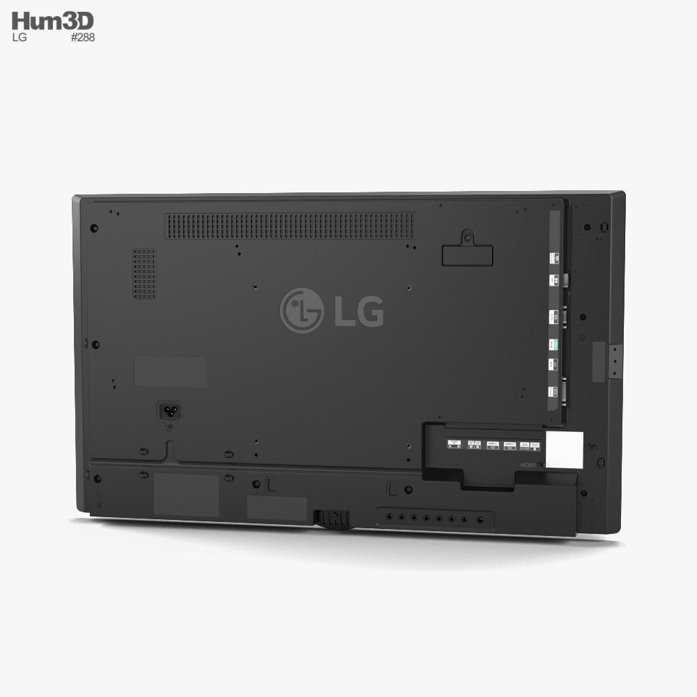 LG 32SM5D Digital Signage Screen 3d model