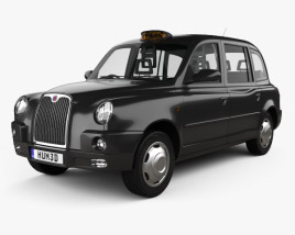 LTI TX4 London Taxi 2006 3D model