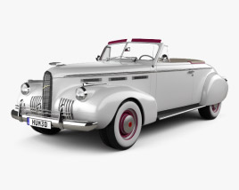 3D model of LaSalle Convertible Coupe (40-5267) 1940