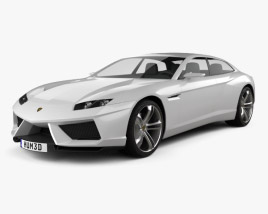 3D model of Lamborghini Estoque 2008