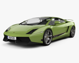 3D model of Lamborghini Gallardo LP570-4 Superleggera 2011