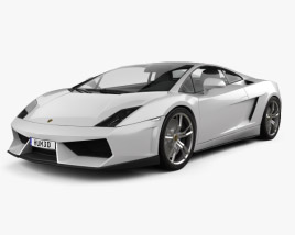 3D model of Lamborghini Gallardo LP 560-4 2009