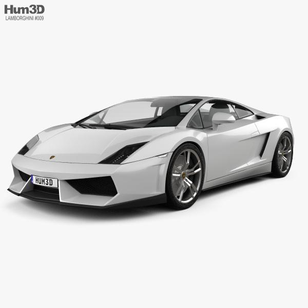 3D model of Lamborghini Gallardo LP 560-4 2009