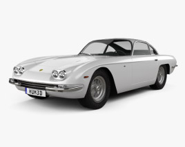 3D model of Lamborghini 400GT 1966