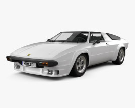 3D model of Lamborghini Silhouette P300 1976