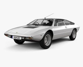 3D model of Lamborghini Urraco P300 1979