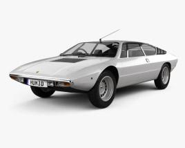 Lamborghini Urraco P300 1979 3D model