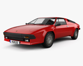 3D model of Lamborghini Jalpa P350 1984