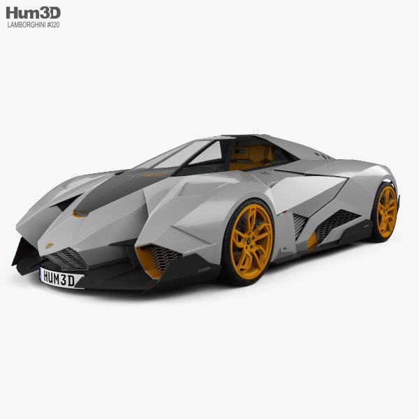 Lamborghini Egoista 2013 3D model