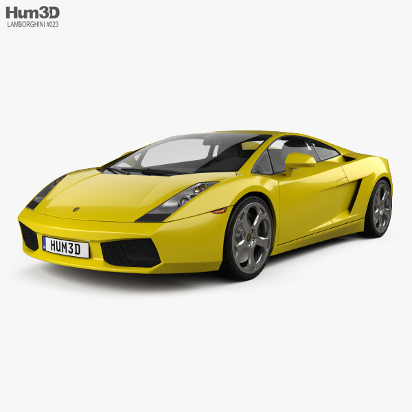 Lamborghini Gallardo 2003 3D model