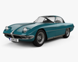 3D model of Lamborghini 350 GTV 1963