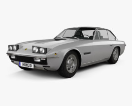 3D model of Lamborghini Islero 400 GTS 1968