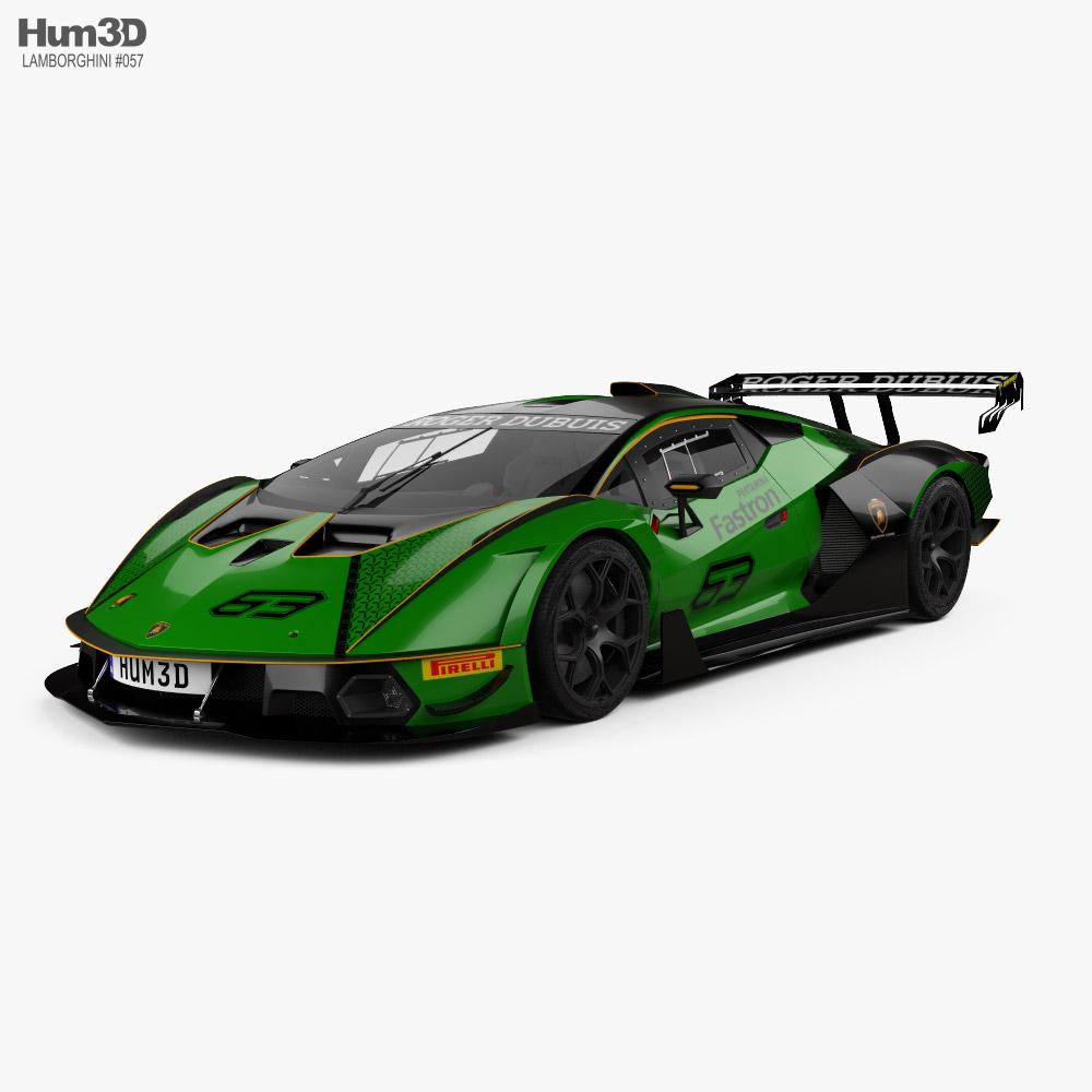 3D model of Lamborghini Essenza SCV12 2021