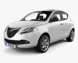 3D model of Lancia Ypsilon 2011