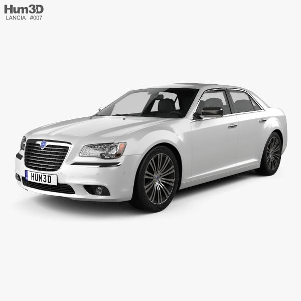 Lancia Thema sedan 2012 3D model