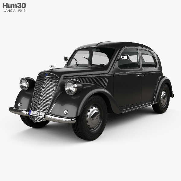 Lancia Ardea 1939 3D model