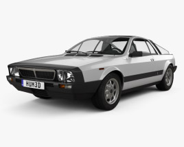 3D model of Lancia Montecarlo 1979