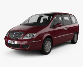 3D model of Lancia Phedra 2008