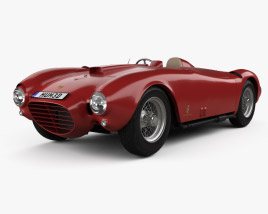 3D model of Lancia D24 Pininfarina Spider Sport 1953