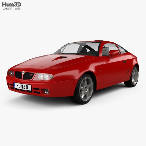 Lancia Hyena 1992 3D model
