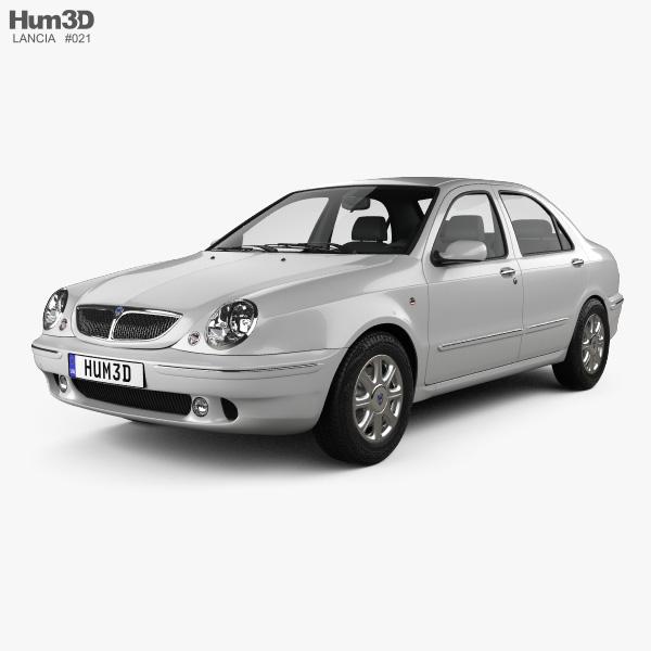Lancia Lybra 1998 3D model