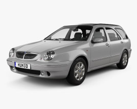 3D model of Lancia Lybra Wagon 1999