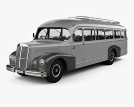 3D model of Lancia 3RO P Bus 1947