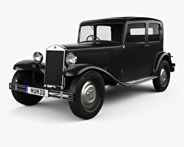 Lancia Augusta 1933 3D model