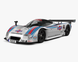 3D model of Lancia LC2 1985