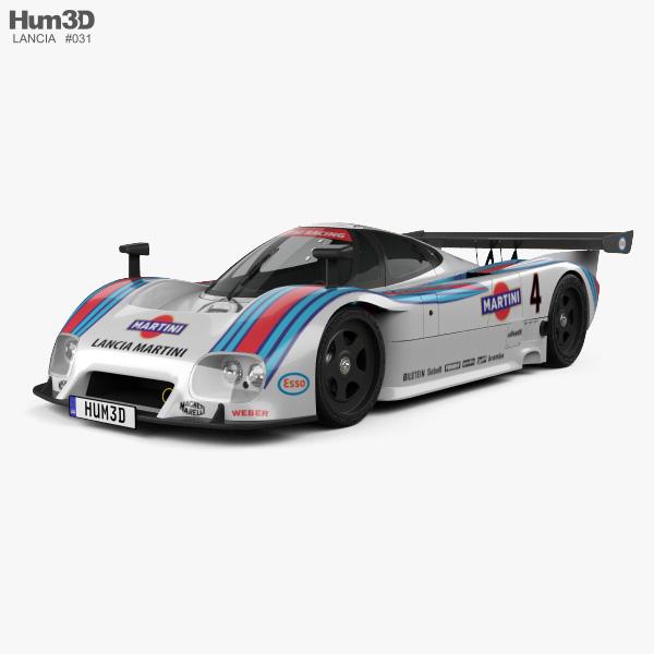 Lancia LC2 1985 3D model
