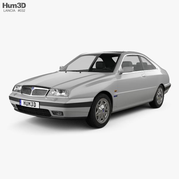 Lancia Kappa coupe 1998 3D model