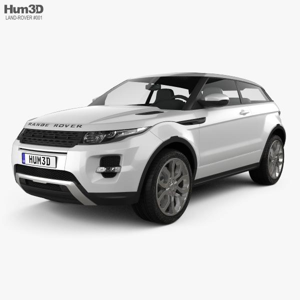 Range Rover Evoque 2011 3Dモデル