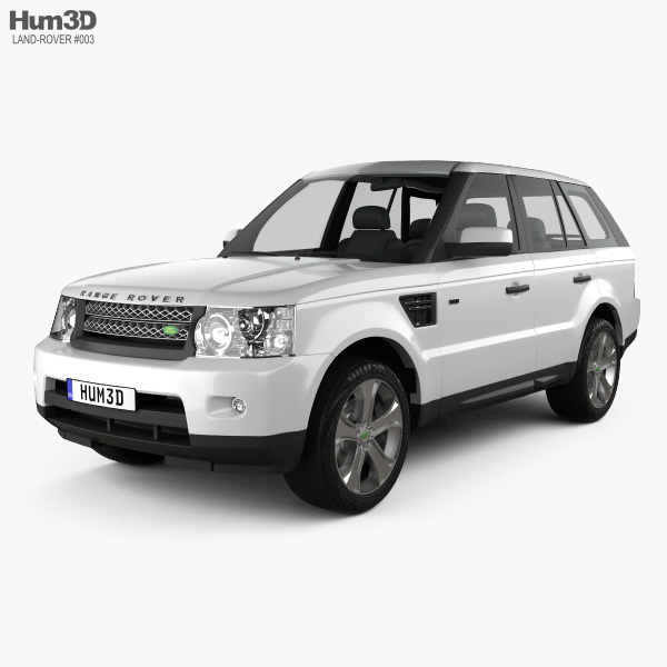 Land Rover Range Rover Sport 2011 3Dモデル