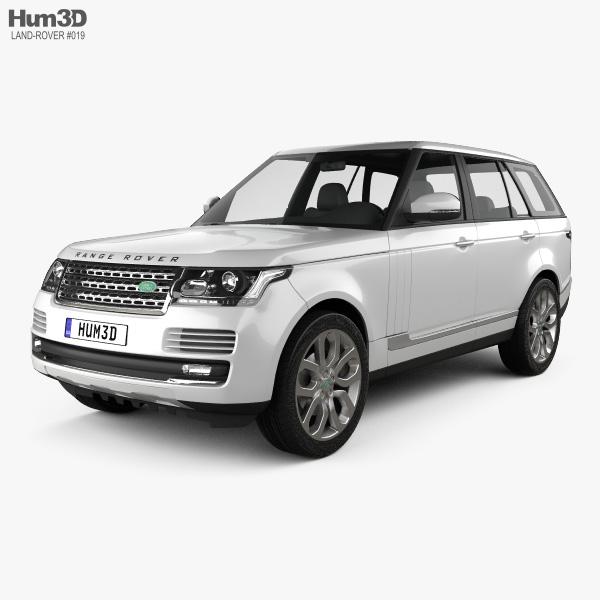Range Rover (L405) 2014 3Dモデル