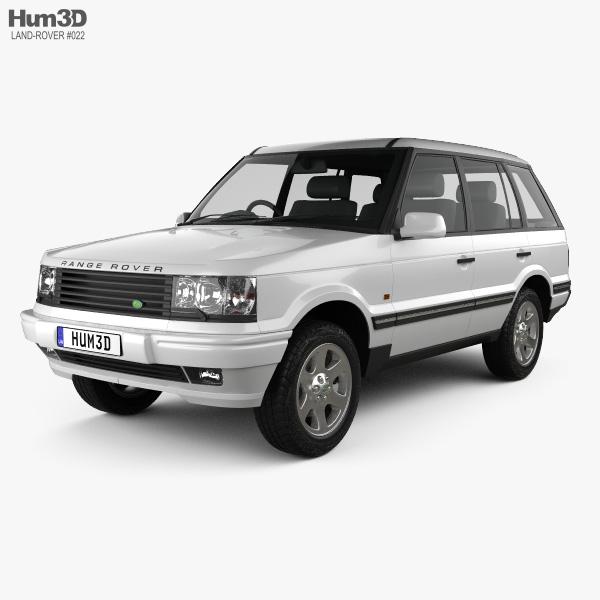 Land Rover Range Rover 1998 3Dモデル