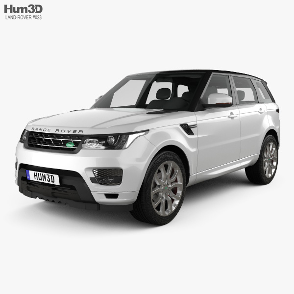 Land Rover Range Rover Sport Autobiography 2013 3Dモデル