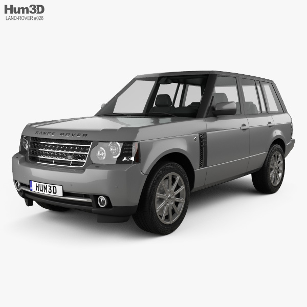 Land Rover Range Rover Supercharged 2009 3Dモデル