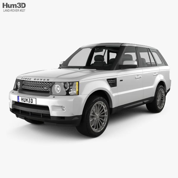 Land Rover Range Rover Sport 2009 3Dモデル