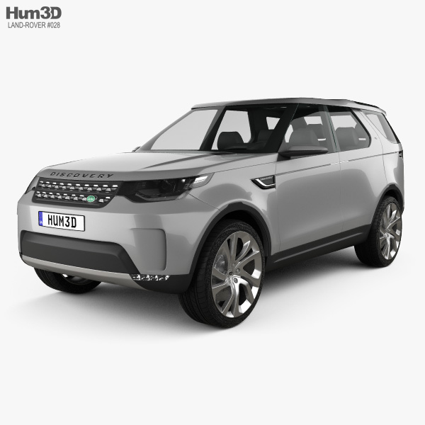 3D model of Land Rover Discovery Vision 2014