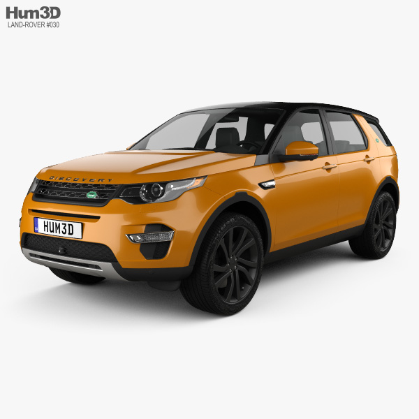 Land Rover Discovery Sport HSE Luxury 2015 3D model