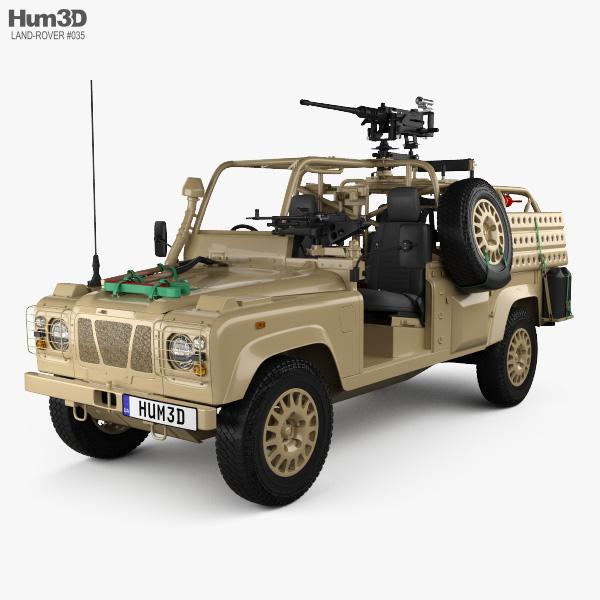 Land Rover Defender RWMIK con interior 2014 Modelo 3D
